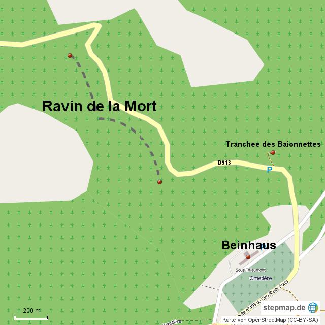Verdun - Ravin de la Mort