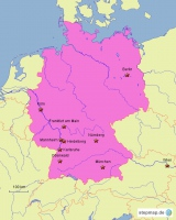 Places and Facts f the german Revolution